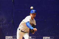 Warm up Pitchin' (Trevor Ducken) Tags: seattle sports nikon baseball july telephoto mariners safecofield pitcher seattlemariners mlb 2016 d600 primelens hisashiiwakuma