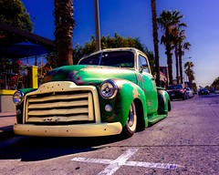 Summertime in Los Angeles (Zero_Three) Tags: summer classic sunshine vintage lowrider wilshire slammed discoverla