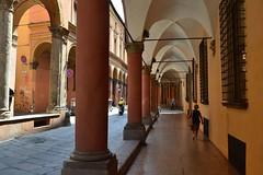 Bologna, via Castiglione (Valerio_D) Tags: italy italia emilia bologna 1001nights portici portico emiliaromagna 1001nightsmagiccity 2016estate