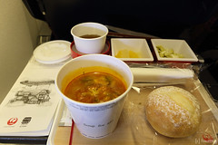 JL45 inflight meals (tomosang R32m) Tags: paris france tokyo  gw charlesdegaulle jal  haneda cdg  hnd    inflightmeals japanairline  parischarlesdegaulle italyviaparis2016