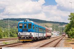 842.014-3 | Os4310 | tra 341 | Bojkovice (jirka.zapalka) Tags: summer train cd os stanice bojkovice rada842 trat341