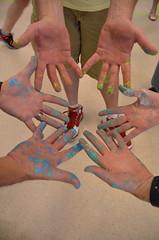 Gynmasium renovation with First Financial Bank (SalvationArmyIndiana) Tags: salvationarmy indianapolis volunteers renovation shelter serviceproject firstfinancialbank salvationarmyindiana ruthlillywomenandchildrenscenter