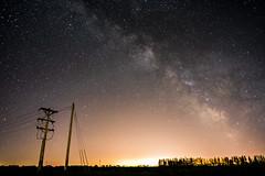 Fargo Glow (Jacob_Edwards) Tags: sony a7rii mirrorless sky night stars light pollution fargo north dakota