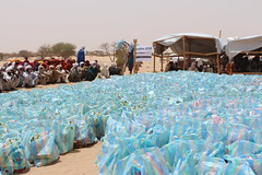 Ramadhan Relief for Nigerian Refugees in Chad (Ummah Welfare Trust) Tags: africa republic chad central hunger nigeria muslims ramadan humanitarian humanitarianism redesrt