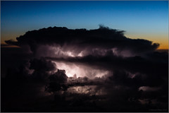 Lille Thunderstorm (mikeyp2000) Tags: storm weather clouds skyscape aerial thunderstorm thunder cloudscape cumulonimbus