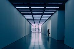 White Cube Gallery ({Laura McGregor}) Tags: whitecubegallery art gallery whitecube bermondseystreet corridor scifi futuristic urban city london fujixpro2 fuji vsco vscofilm