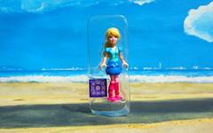 Barbie Figure By Mega Bloks 2015 : Diorama Beach - 4 Of 9 (Kelvin64) Tags: barbie figure by mega bloks 2015 diorama beach