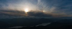 Sauron (ross_vernal (Scottish Dream Photography)) Tags: sunset dog sun mountain mountains evening walk hike benlomond sundog munro eos70d