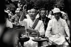 Ngertakeun Bumi Lamba #06 - Chanting (dqsetiadi) Tags: ngertakeunbumilamba sunda sundawiwitan nusantara traditionalculture chanting blackandwhite journalism portiture portraits