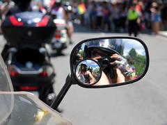 Reflected Riders (Georgie_grrl) Tags: portrait toronto ontario reflection love me mirror community friendship pride celebration event selfie mondo lgbtq fromthebike faaaaabulous akablurryshit bikerbs torontopride2016