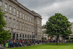 Trinity College Library (Toby2103) Tags: street city trip travel ireland sky urban dublin building architecture clouds capital olympus guinness mirrorless