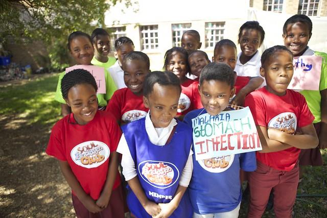 Soul Buddyz Club at Ekukhanyisweni Primary School in Alexandra.