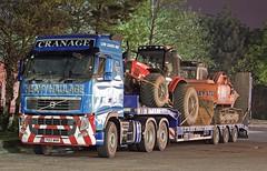 Volvo FH PO13 WNR Cranage (gylesnikki) Tags: blue truck artic cranage