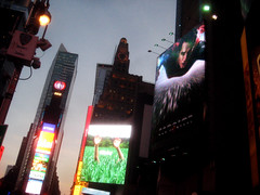 Superman 0274 (Brechtbug) Tags: street new york city nyc blue red man work dark comics painting movie poster square book dc paint theater comic near steel character alien bat working broadway s superman billboard advertisement adventure hero superhero billboards knight worker shield times insignia krypton 46th 2013