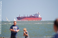 Tanker ship on The Solent 27-May-13 (Kev_Browne) Tags: family sea sky sun beach ferry sand waves sailing ship hampshire icecream isleofwight solent oil huge yachts pilot tanker crude fawley maneuver