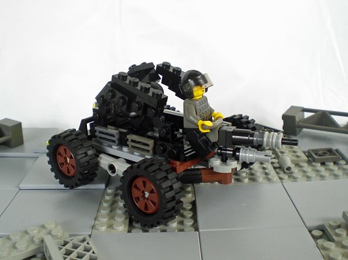 Wastelands Scrap Buggy- Turret