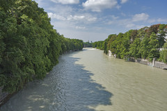 White Isar (The^Bob) Tags: river germany munich sediment isar snowmelt