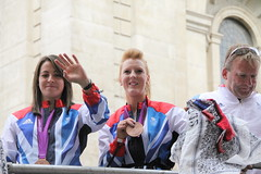 Olympic Victory Parade, London (Ian Press Photography) Tags: london smiling bronze silver happy gold joy smiles victory medal parade smiley winner olympic athletes olympics athlete winners 2012 medals paralympics london2012 olympians paralympians