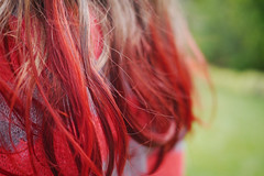 red!!! (elevatoro) Tags: girls friends summer camp kids hair fun lindsay aid dye kool solomons cheviot leibow elevatoro