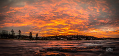 Long Reef Sunset (Mike Hankey.) Tags: sunset panorama flickr l longreef techniquetuesday 7daysofshooting blinkagain