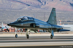 T-38C Talon (mvonraesfeld) Tags: las vegas red training us flying force flag air nevada wing landing talon 12th recovery 133 randolph squadron afb nellis northrop t38c img7381 560th chargincheetahs 688191