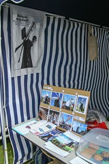 West Bank Park summer fair 2013  - the Holgate Windmill stall (1)