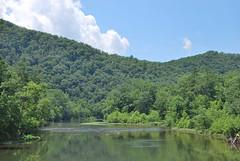 Greenbrier River at Anthony, WV (Bitmapped) Tags: usa unitedstates westvirginia rivers mississippiriver anthony ohioriver newriver renick greenbrierriver monongahelanationalforest greenbriercounty kanawhariver