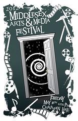 Steve Mazzetta: 2012 Arts & Media Festival Poster