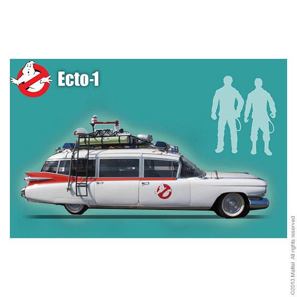 Mattel – 1/12 比例 魔鬼剋星 Ecto-1 特別組合包