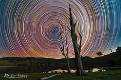 Star Trails @ Lostock (Kiall Frost) Tags: night stars photography nightscape dam farm australia nsw startrails milkyway lostock kiallfrost