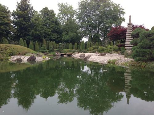 Bonn - Japanischer Garten, Rheinaue Bonn