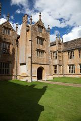Barrington Bristling (archidave) Tags: house architecture court somerset tudor national trust mansion elizabethan manor barrinton
