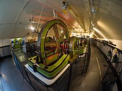 Old steam engine (James E. Petts) Tags: london towerbridge fisheye steamengine