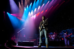 John Mayer performs at The O2 in london