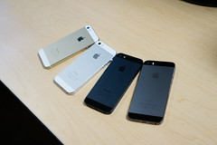 iPhone Family (will.tung) Tags: white black apple silver gold grey 5 space gray slate iphone 5s