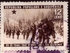 Vjetori i tret i lirimit t kombit, 29 nntor 1944-1947. Third anniversary of the liberation of Albania, November 29th 1944-1947. 3me anniversaire de la libration de l'Albanie, 29 novembre 1944-1947. (Only Tradition) Tags: al albania albanien albanie shqipri ppsh shqipria rpsh
