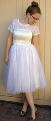 Refashion Runway Week 6: Winter White - After (nosmallfeet) Tags: sewing shirts skirts refashions