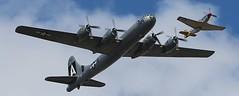 B-29 & P-51 Galveston Gal RIP (Bill Jacomet) Tags: wings over houston texas 2013 air show ellington field airport planes b29 fifi p51 galveston gal