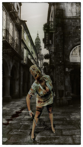 Cosplay-Silent Hill-Nurse.