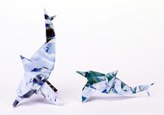 Origami création - Didier Boursin - Dauphin