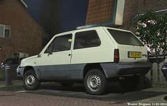 Fiat Panda 34 1986 (XBXG) Tags: auto old italy classic netherlands car vintage italian automobile panda italia fiat nederland voiture 1986 paysbas hilversum 34 ancienne fiatpanda italienne pd31nt