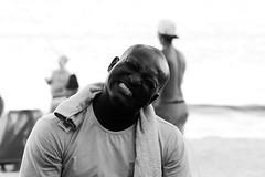 (Ana De Rosas) Tags: portrait blackandwhite blancoynegro argentina brasil retrato negro mendoza sonrisa emotions hombre sentimiento mypocket emocion incoloro