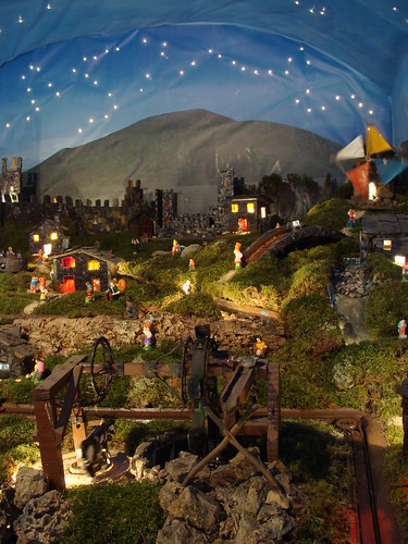 Miniature Portuguese village