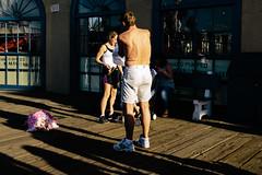 Back (boingyman.) Tags: street pier santamonica boingyman