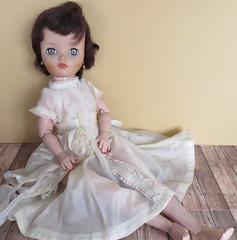 Flea Market Finds - Uneeda Dollikin (Foxy Belle) Tags: vintage doll market flea uneeda dollikin
