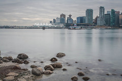 Canada Place (...Ashish...) Tags: vancouver canon 5d canadaplace 1740mm leefilter leebigstopper
