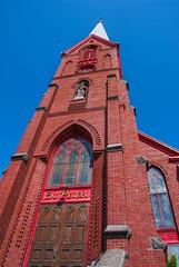 Old St. Peter's Church Landmark, The Dalles (GeorgeOfTheGorge) Tags: brick oregon unitedstates thedalles redbrick stpeterscathedral nationalhistoricregistry