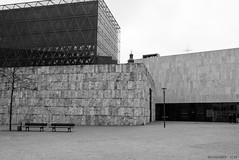 Jewish Museum Munich (KLAVIeNERI) Tags: architecture munich photography jewishmuseum jewishcenter bwconverted leicaforum leicax1 leicaimages ilovemyleica lightroom5