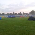 Blackheath Rugby Club on a Misty Morning