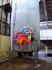 Deams at The Cote, in 2011 (now demolished) (75kombi) Tags: awol deams awolcrew deamsawol